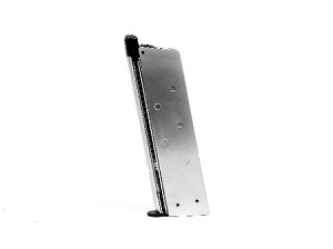 Socom Gear M1911 Single Stack Magazine (Silver Body) without Base Pad