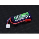 Nano-Tech Lipo 7.4 volts 300mAh 45-90C with JST Adapter (Turnigy)