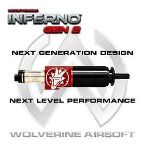 Wolverine Airsoft - Inferno Gen 2 - V2 Cylinder with Premium Edition Electronics (M4 Nozzle)