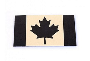 King Arms NVG IFF Canada Flag - Tan