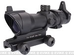 Action 4x32 Full Metal Rubber Coated Airsoft Rifle Scope w/ 20mm QD Mount