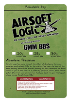 Airsoft Logic 0.25 g Bio BB