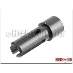 ngry Gun Steel Flash Hider for KWA/KSC MP7 (12mm CW)