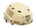 Spartan Head Gear BJ Helmet Dark Earth