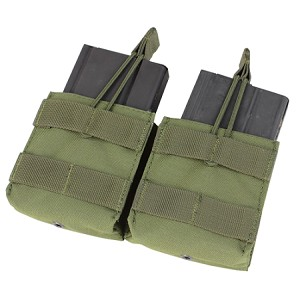 Condor Outdoor Double M-14 Open Top Mag Pouch, OD