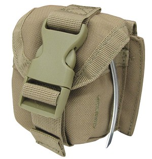 Condor Outdoor - Single Frag Grenade Pouch, TAN