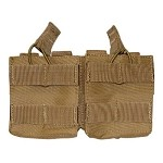 Condor Double Stack M14 Open Top Mag Pouch - Tan
