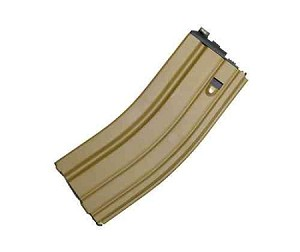 WE Gas Magazine for Scar, PDW, Musoken, HK416 and M4 (Tan)
