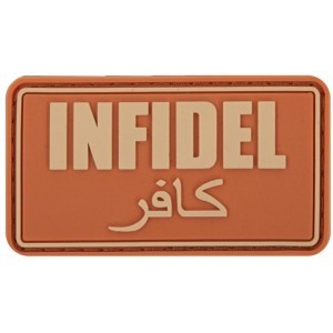 PATCH - INFIDEL ORANGE