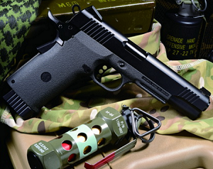 KJW KP-11 blowback pistol - CO2