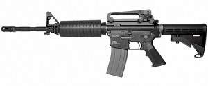 KWA Full Metal PTR LM4 Airsoft Gas Blowback GBB Rifle