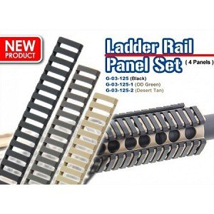 G&G Ladder Panel Set (4 pc) BLK