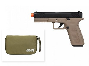 Echo1 Lone Wolf Timberwolf Tan Gas Blow Back Pistol - Gen. 2