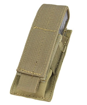 Condor Outdoor - Single Pistol Mag Pouch - TAN