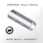 Madbull Airsoft Piston Body 1/2 Tooth with 7 Metal Teeth