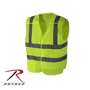 Rothco 5-Point Breakaway Vest - -Safety Green