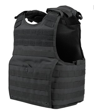 Condor Exo Plate Carrier - Black - Size L/XL