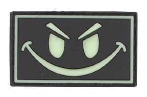 PATCH - SMILY FACE GREEN,