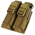 Condor Outdoor Double Flash-Bang Pouch- Tan