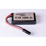 Airsoft Logic 11.1V PEQ 15 Style LiPo Battery 1100 mAH