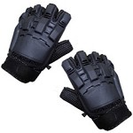 Half Finger Armoured Airsoft Gloves