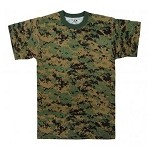 Rothco - T-Shirt / Woodland Digital Camo