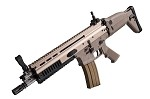 WE Scar-L GBB Open Bolt - Tan
