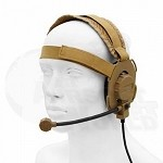 Z-Tactical - Bowman Evo III Headset - Dark Earth